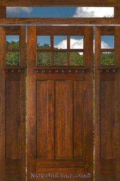 Quaker Craftsman Front Door Custom Home Exteriors
