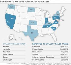 Attention Amazon shoppers: Be prepared to pay more when you purchase goods, depending on where you live.