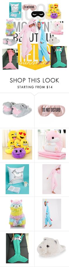 """""""Sleepover!!😴"""" by kmosburn3 ❤ liked on Polyvore featuring BaubleBar and Ohh Deer"""