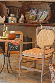 Olive farm decor, near Arles, Provence