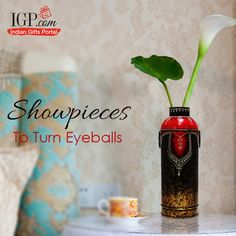 Make them happy with trendy home decor gifts! Send now #HomeDecorGifts #Showpieces