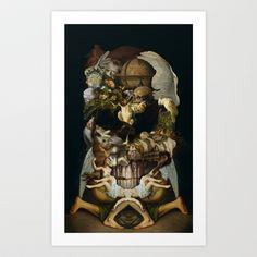 Old Master Skull Art Print by Luke Dorman - $16.00