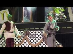Don't love this Shrek, but Donkey is pretty cool!  (acting)  Travel Song from Shrek the Musical - YouTube