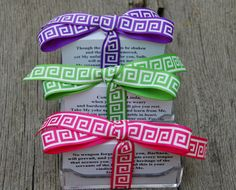 50 Personalized Bible Verses in holder by GloriousbyGloriaC, $15.00