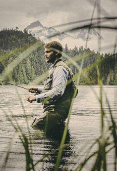 I feel like he's a little too young.   #fishing #flyfishing #fish