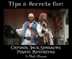 Captain Jack Sparrow's Pirate Tutorial in Magic Kingdom is a high energy show that teaches youngins' the art of being a pirate. Check your Times Guide on the day of your visit for accurate showtimes
