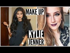 Maquiagem Kylie Jenner com Batom DAILUS Mascavo | Inspiração - YouTube
