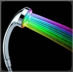 Купить товарБесплатная доставка новое ванная комната из светодиодов насадка для душа, головка для душа с подсветкой громкой бассейна смеситель ванной кран   выдвижной выдалбливают в категории Насадки для душана AliExpress.            &