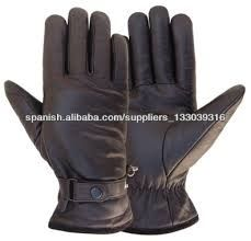 Resultado de imagen para guantes de cuero