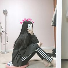 Mode Ulzzang, Ulzzang Korean Girl, Cute Korean Girl, Asian Girl, Kpop Fashion Outfits, Ulzzang Fashion, Korean Outfits, Aesthetic Girl, Aesthetic Clothes