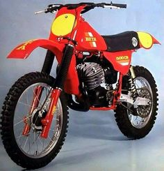 Beta Motocrosser - Vintage Dirt Bikes