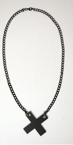 X Necklace #NecklaceDesign #Fashion #Jewelry