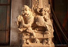 This is called the Annamalaiyar Temple and is dedicated to Lord Shiva. Wall Sculptures, Lion Sculpture, Main Entrance Door, The Holy Mountain, Sitting Posture, Morning View, Man Sitting, Place Of Worship, Lord Shiva