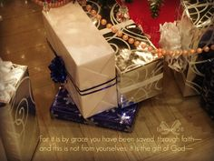 Gifts will be given this Christmas to show love to one another. The greatest gift given in history is the gift of our Lord and Savior, Jesus Christ, who gave Himself as a sacrifice for our salvatio...