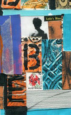 mailart collage art