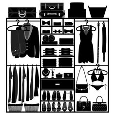 Organizing Closets - tips from the professionals.