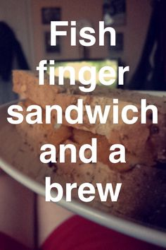 Fish finger sandwich and a brew. Best quick dinner ever! Good Quick Dinners, Fish Finger, Finger Sandwiches, Brewing, Birds, Eye, Party, Food, Sandwiches