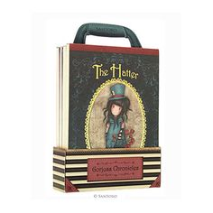 Santoro Gorjuss Chronicles Bag Of Books - New Heights, The White Rabbit, The Hatter, Rapunzel Santoro London, Angel Outfit, 3d Cards, Boot Shop, Rapunzel, Thought Provoking, New Books, Steampunk, Stationery