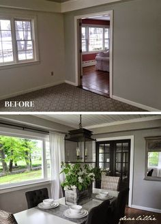 Dear Lillie: Jason's Full House Tour (Lots of Before and Afters) -- tons of resourses and paint colors
