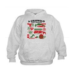 Christmas Vacation Movie Collage Hoodie