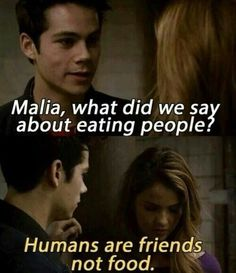 Image via We Heart It https://weheartit.com/entry/153799865/via/29814854 #funny #humans #malia #movie #tvshow #teenwolf #stilesstilinski