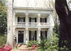 McRaven is considered the most haunted house in Mississippi. It was built in 1797 by a highway bandit named Andrew Glass, who died in his room after being shot. One of the first ghosts seen there is that of a Confederate soldier who died there in 1886 when it was briefly used as a hospital. He appears in the parlor and on the front porch. Other ghosts from past residents dating as far back as Glass have also been seen. Activity includes physical attacks, flickering lights and slamming doors.