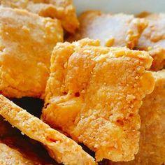Kaascrackers - koolhydraatarm recept