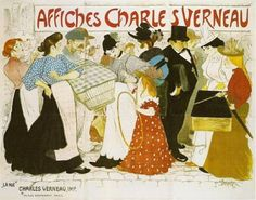 The Street (La rue), poster for the printer Charles Verneau, Théophile-Alexandre Steinlen, Van Gogh Museum, Amsterdam (purchased with support from the BankGiro Loterij)