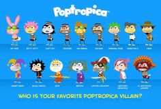 poptropica | The battle to crown Poptropica's best villain has begun! Here are 4 ...