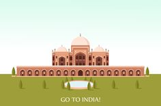 Tourism for China and India by VectorMarket on Creative Market