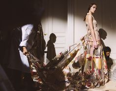 Valentino. The Best Candid Moments from the Fall 2014 Couture Shows - Vogue