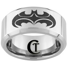 Emerald Ring / Emerald Gold Ring / Natural Emerald and Diamond Ring / Pear Shape Genuine Emerald / Stack Ring / Birthstone Ring - Fine Jewelry Ideas Batman Ring, I Am Batman, Batman Stuff, Batman Art, Shop Engagement Rings, Vintage Engagement Rings, Tungsten Jewelry, Tungsten Rings, Batman Wedding Rings