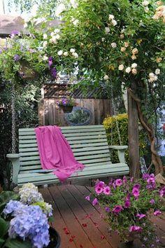 Nossa Casa Verde: Balanço para jardim ou quintal
