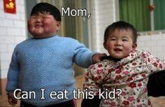 Kid needs to diet