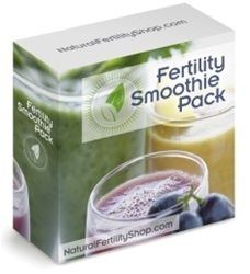 Fertility Smoothie Pack - perfect for boosting fertility in the preconception phase before you get pregnant www.myinfertilityblog.com