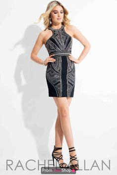 ee3839463cb Rachel Allan Beaded Short Dress 3103 2016 Homecoming Dresses