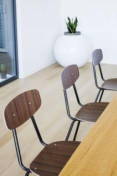 MDF chair AQUA by Ma