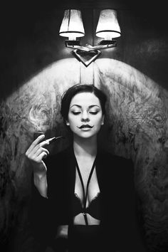 "classicmodels: "" Dorota Mentrak In Black and White by Ania Powalowska """