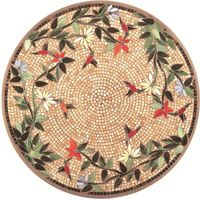 Inspired by nature, these original mosaic table tops are truly works of art. Beautifully top your table with a vibrant artistic mosaic creation fashioned from hand-cut tiles of stained glass and tumbled marble. Mosaic Crafts, Mosaic Projects, Mosaic Art, Mosaic Glass, Mosaic Tiles, Stained Glass, Glass Art, Free Mosaic Patterns, Mosaic Coffee Table