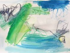 "Saatchi Art Artist Trixie Pitts; Painting, ""Capsized"" #art"