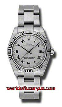 177234-SDO - This Rolex Oyster Perpetual No-Date Mid-Size Mens Watch, 177234-SDO features 31 mm Stainless Steel case, Silver dial, Sapphire crystal, Fixed bezel, and a Stainless Steel bracelet. Rolex Oyster Perpetual No-Date Mid-Size Mens Watch, 177234-SDO also features Automatic movement, Analog display. This watch is water resistant up to 30m/100ft. - See more at: http://www.worldofluxuryus.com/watches/Rolex/No-Date/177234-SDO/641_802_6408.php#sthash.KVLDYVg5.dpuf