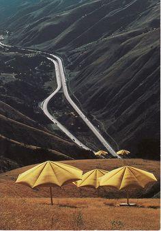 Christo: The Umbrellas by Calsidyrose