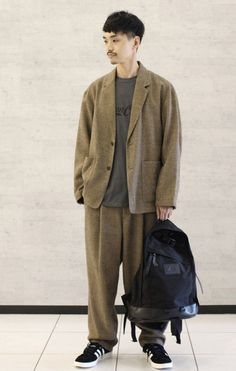 Japan Men Fashion, Mens Fashion, Normcore, Style, Moda Masculina, Swag, Man Fashion, Fashion Men, Men's Fashion Styles