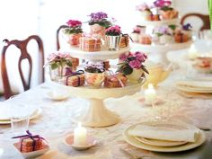 Parties and Table Settings