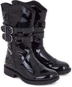 Lelli Kelly Kids Black Patent Carly Boots on shopstyle.co.uk