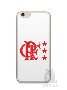 Capa Iphone 6/S Plus Time Flamengo #3 - SmartCases - Acessórios para celulares e tablets :)