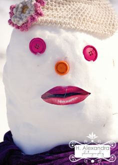 Snow lady... think I know her