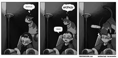 On Male Cats (broface) -- Three Panel Soul by Ian McConville and Matthew Boyd