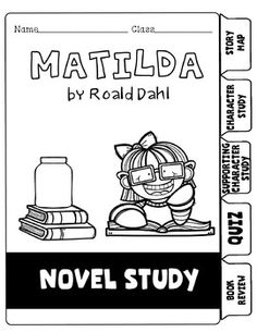 Free Printable Resources For Roald Dahl's Matilda