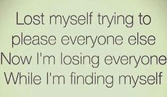 Finding myself
